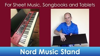 Nord Keyboard Music Stand (to hold sheet music, songbooks and/or tablets)