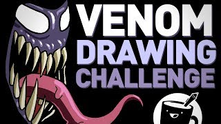 Venom Drawing Challenge
