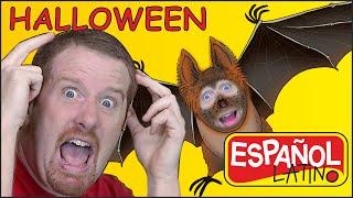 Canción de Halloween para Niños| Canciones Infantiles de Halloween | Steve and Maggie Español Latino