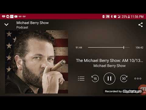 The Michael Berry show - caller Gets Busted by wife