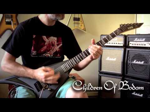 Children Of Bodom - Everytime I Die Guitar Cover