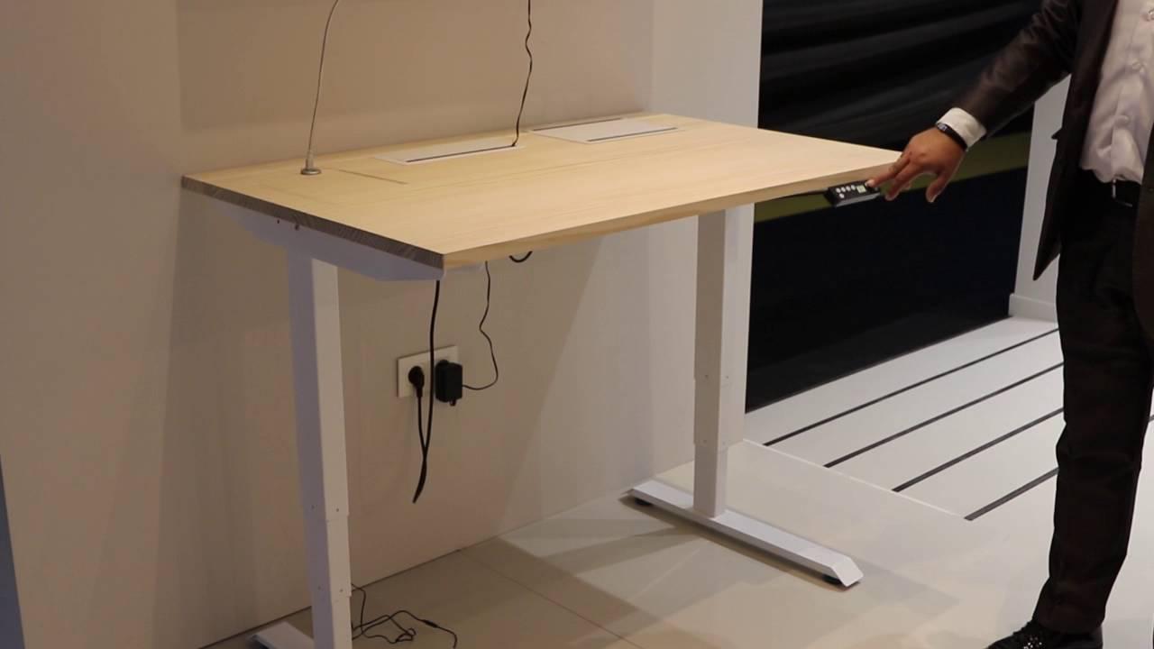 Sistema de patas de elevaci n el ctrico para mesa useful - Patas plegables para mesas ...
