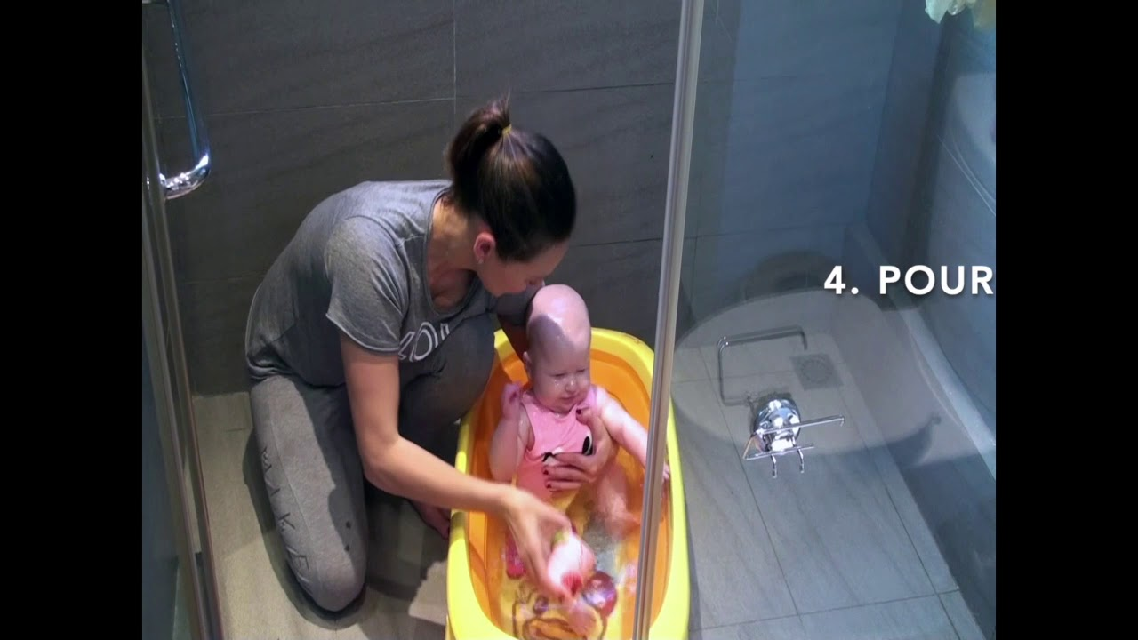 Prepare your baby for submersion at home