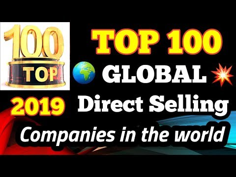 Top Direct Selling Companies In The World || World's Top 100 Direct Selling Company List In 2019