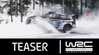 WRC Rally Sweden 2016: Teaser!