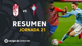 Resumen de Granada CF vs RC Celta (0-0)