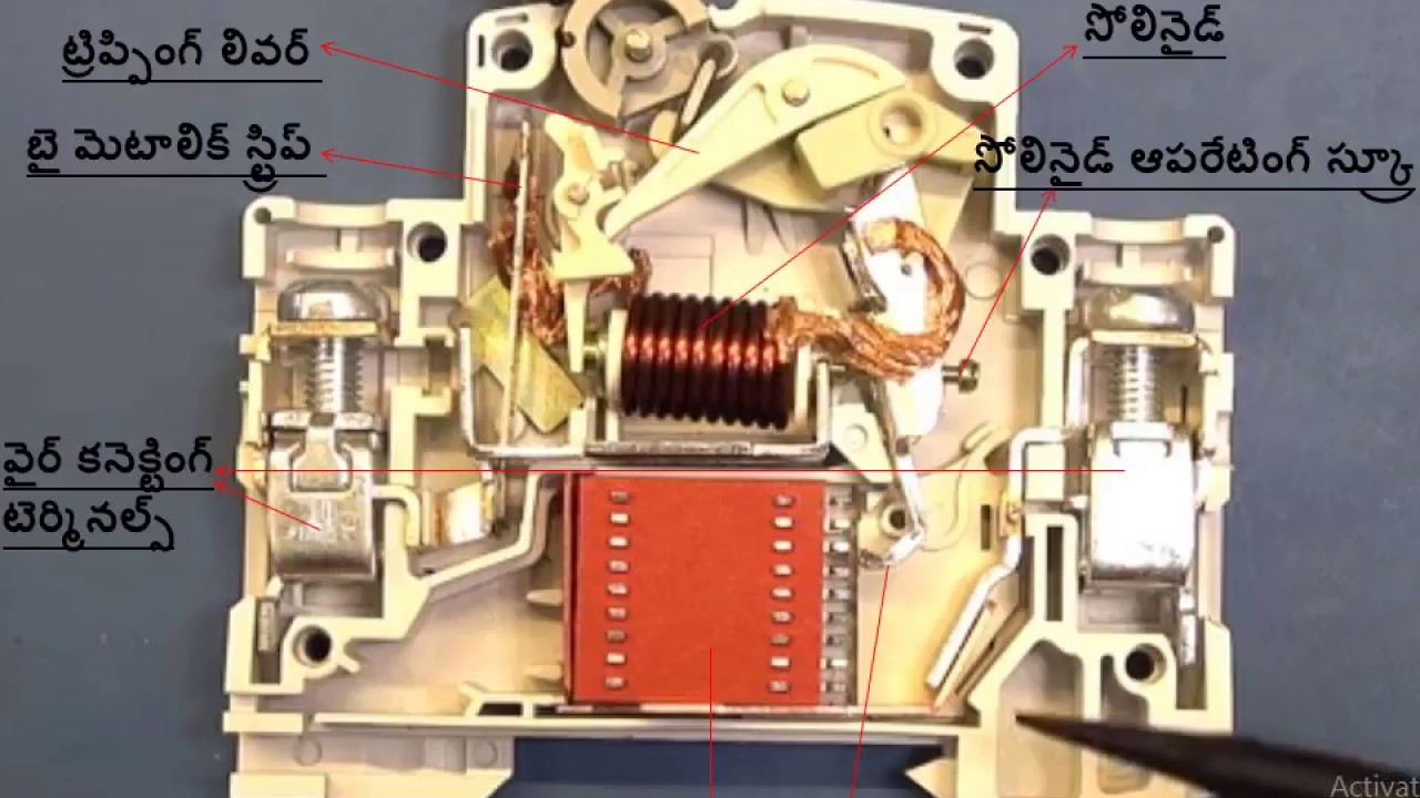 Mcb Working Of Miniature Circuit Breaker How Works An Will Work