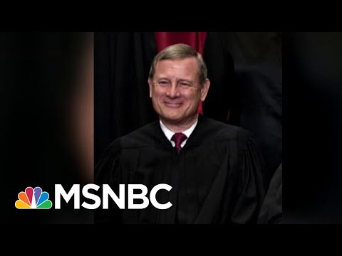Justice John Roberts Shows He Closest Thing To Swing Vote | Morning Joe | MSNBC