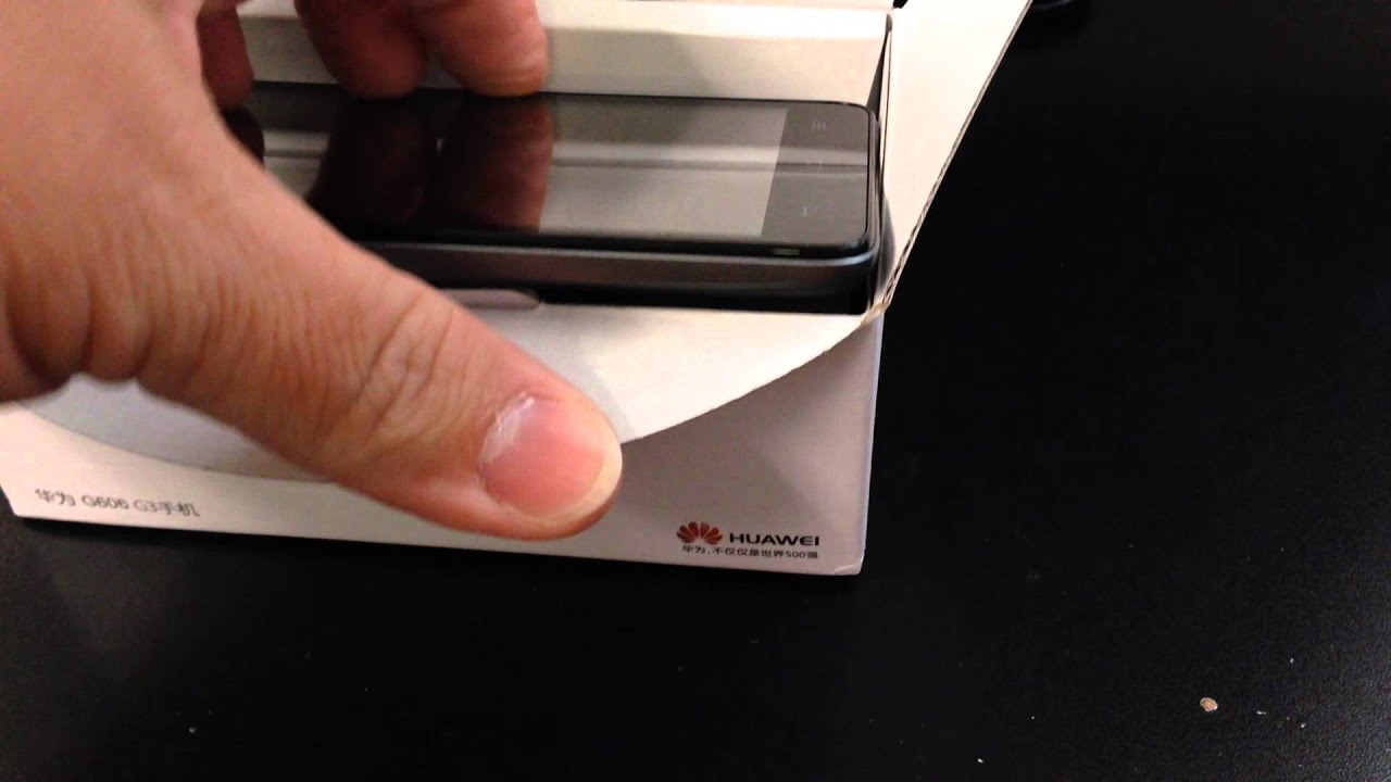 Huawei Ascend G606-t00 Unboxing Video