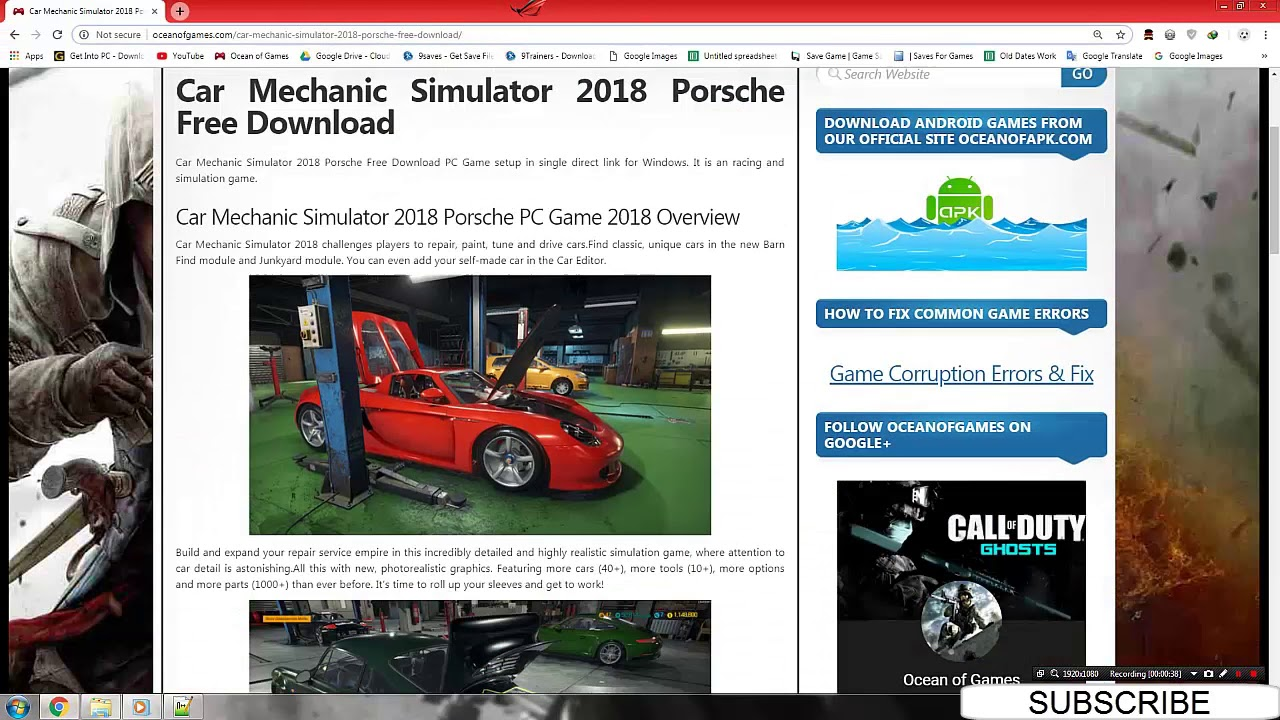 🌷 Car mechanic simulator 2018 free download apk | Guide Car