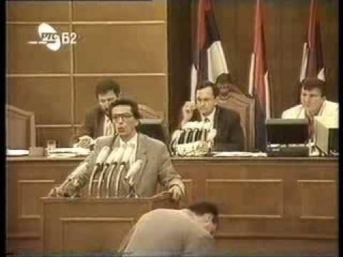 Profesor Dr. Dragan Radulovic (DSS) - Narodna Skupstina