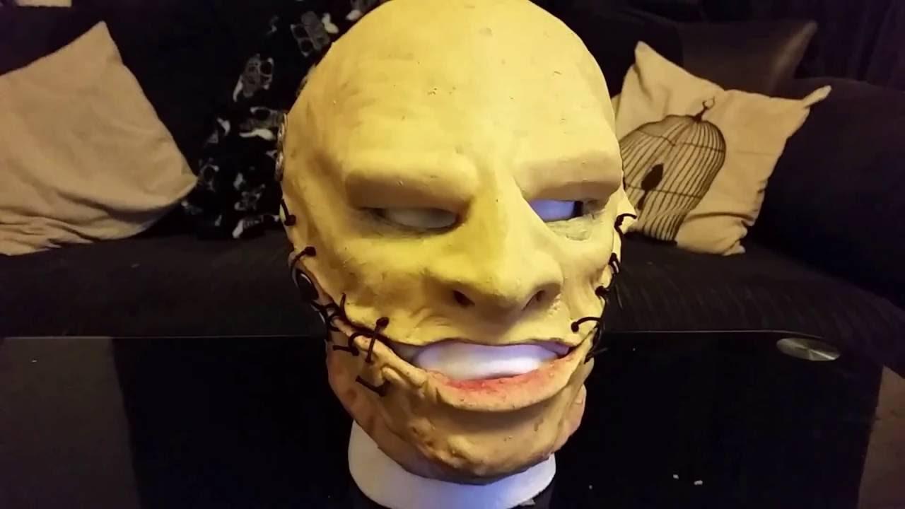 Handmade Corey Taylor mask 5 Grey Chapter mask Corey Taylor Slipknot mask