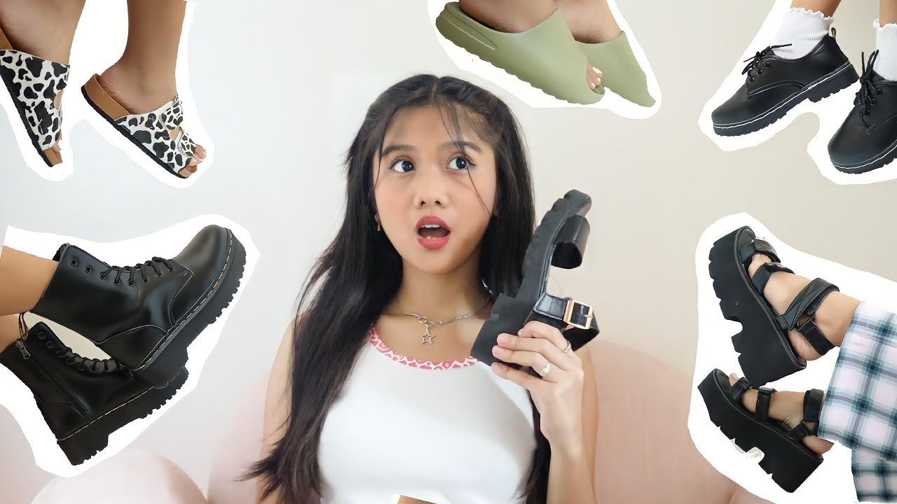 THE ULTIMATE SHOPEE SHOES HAUL (affordable)