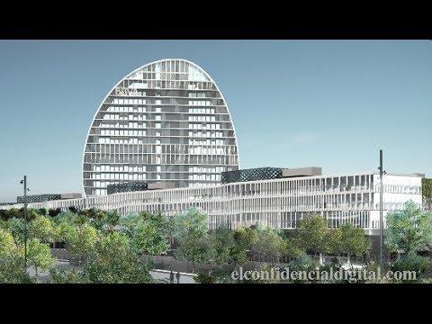 Una visita al edificio inteligente de la nueva sede del BBVA