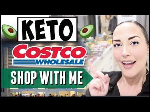 🥑KETO GROCERY SHOPPING LIST 2019 ● KETO at COSTCO SHOP WITH ME + HAUL ● FAVORITE LOW CARB FOODS