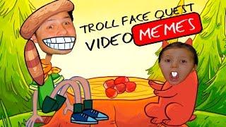 СМЕШНОЕ ВИДЕО ДЛЯ ДЕТЕЙ Трол Квест Смеёмся до слез в игре Troll Face Quest Kids Childrens