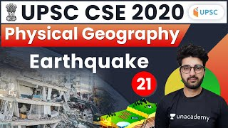 UPSC CSE 2020   Physical Geography for Civil Service Exam by Sumit Sir   Earthquake
