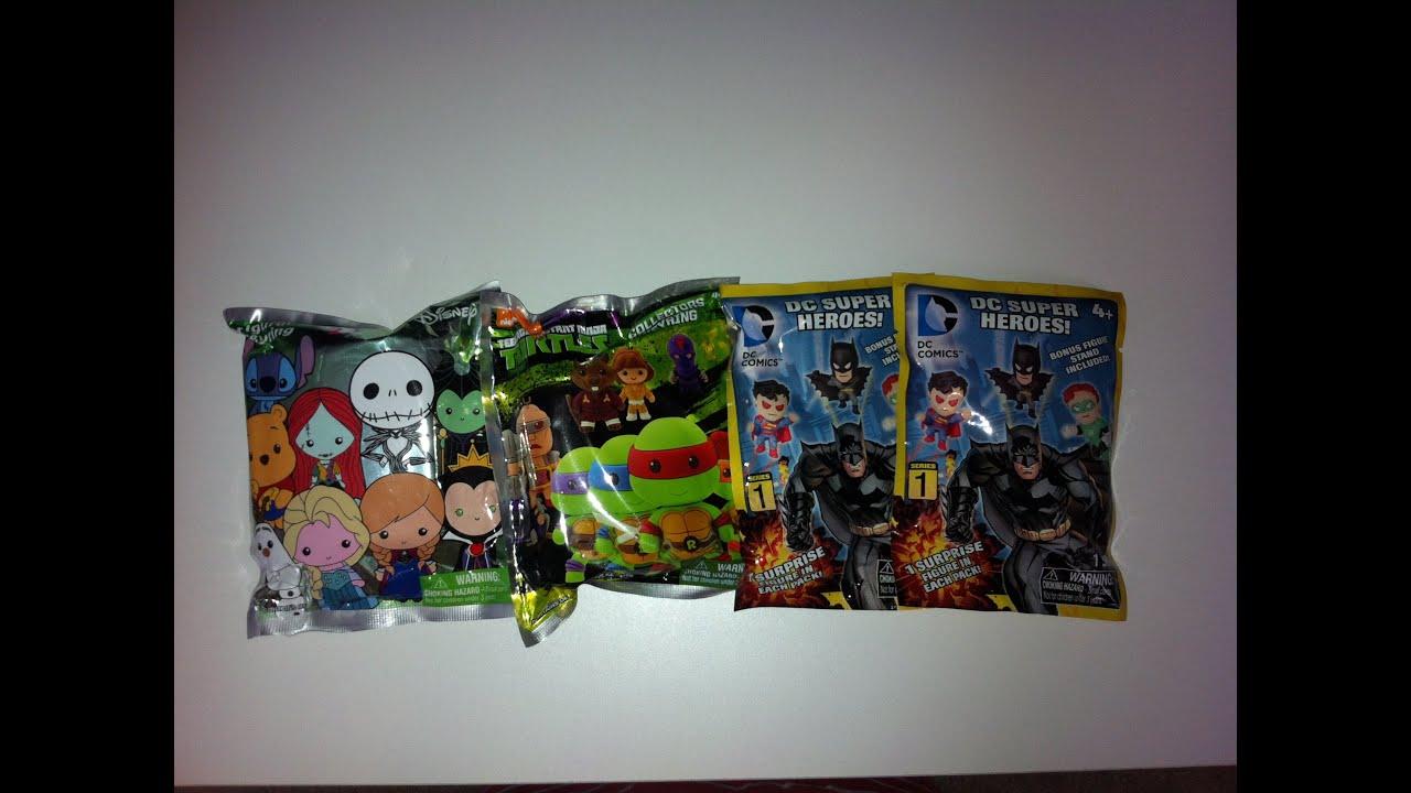 dc superhero disney tmnt keyring blind bags youtube