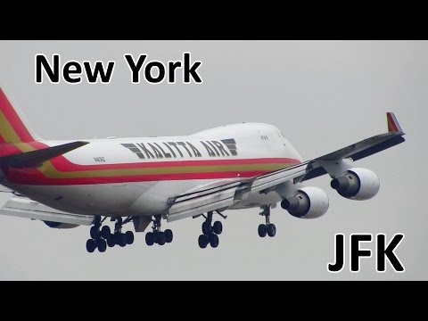BUSY Planespotting at New York JFK: 747, 777, A340, 767, A330, 757 and more! [Full HD]