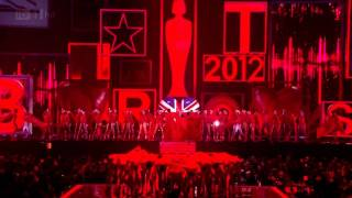 Brit Awards 2012 - Olly Murs - My Heart Skips A Beat