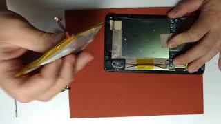 замена аккумулятора на планшете Irbis TZ720