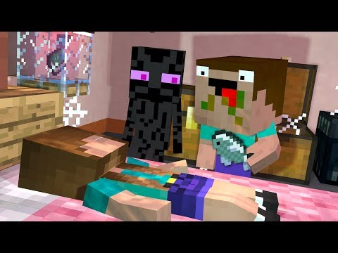Noob & Endy Life - Ep4: SLEEPING BEAUTY - Minecraft Animation | Noob & Brothers Series