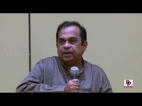 Never heard this from Brahmanandam before in life at ATA Chicago