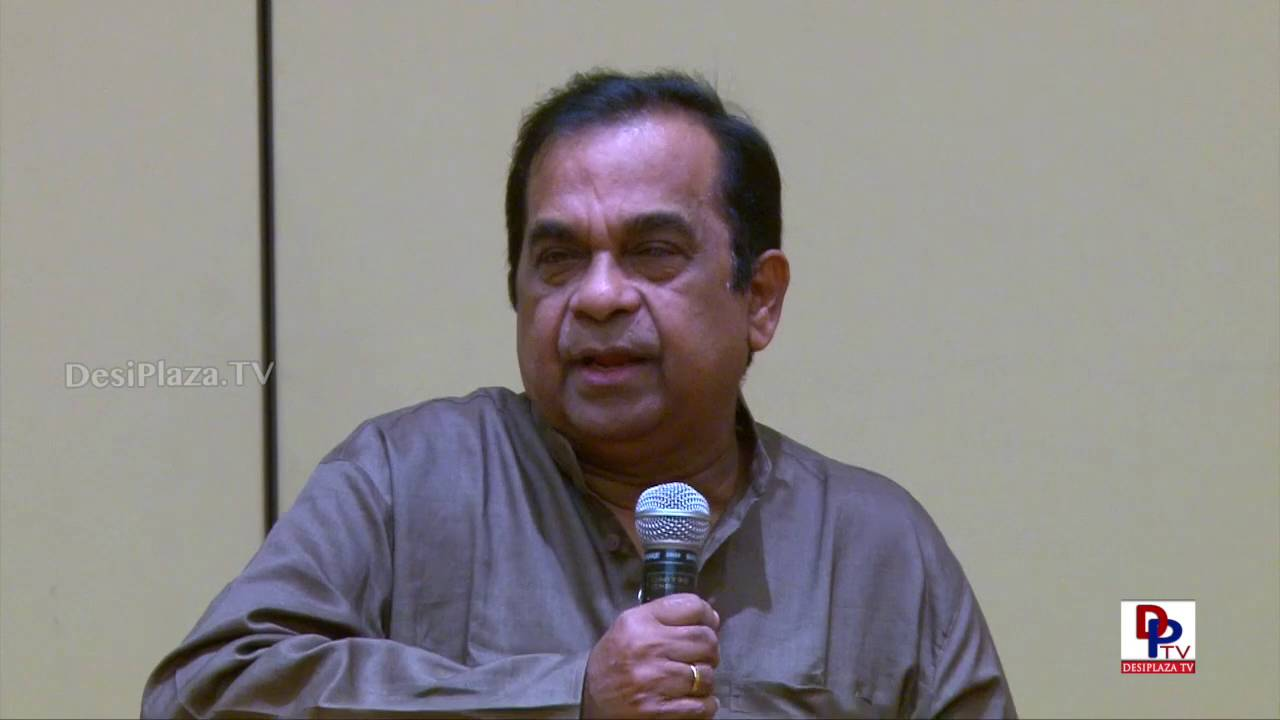 Brahmanandam Speech at Telugu Cultural Association Houston - Convention 2016