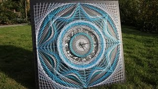 String Art by Aline Campbell - Timelaps