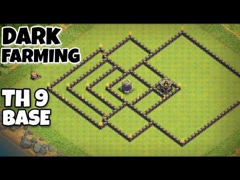 Th9 Dark Elixir Farming Base Link 7
