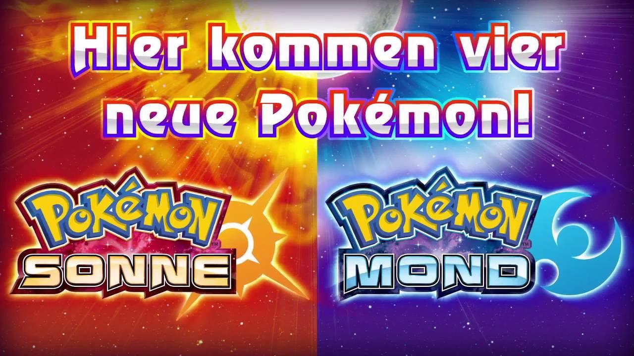 Pokemon Sonne Und Mond Trailer