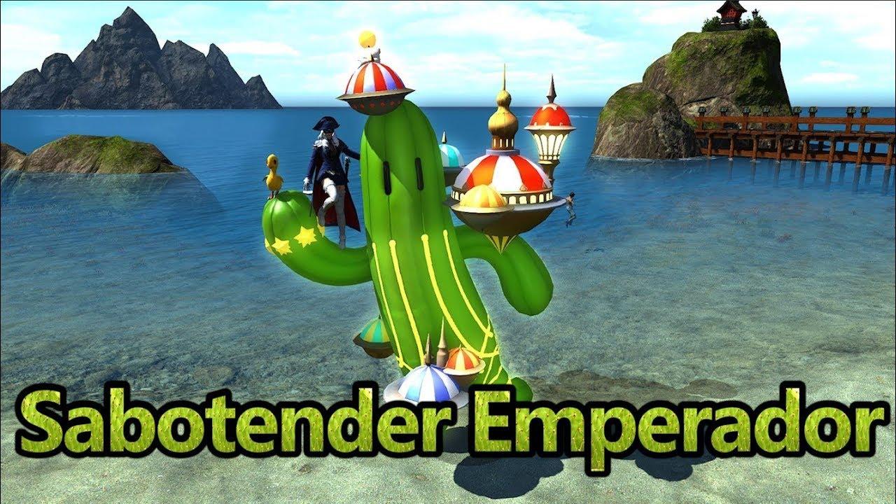 Download Ffxiv Sabotender Emperador Mount Mp3 Mp4 3gp Flv | Download