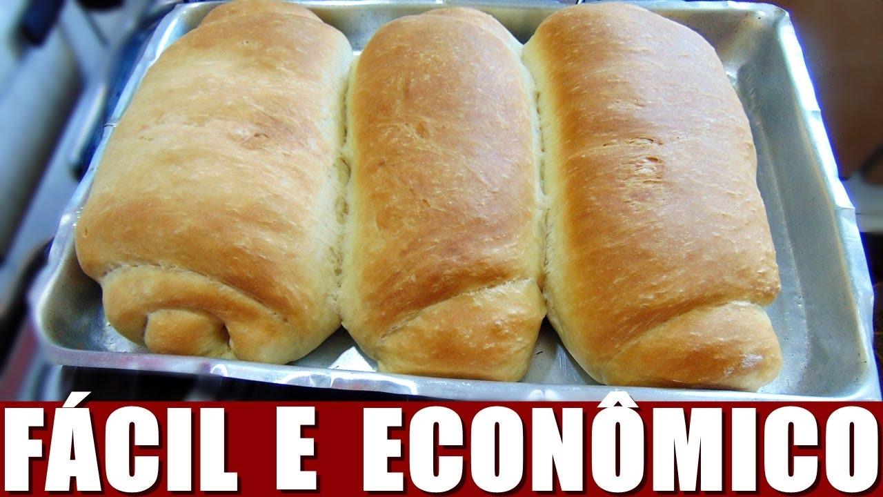 Pão Caseiro Super Fácil E Econômico Menino Prendado Youtube