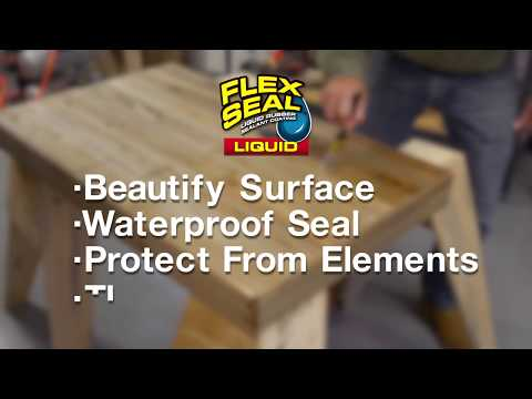How to Make a Waterproof Coffee Table | Flex Seal®