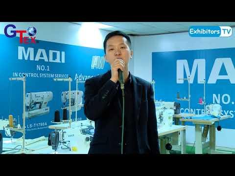 Zhejiang Maqi Sewing Machine Co China at Gtex 2018 Textile Machine Exhibition in Karachi Pakistan