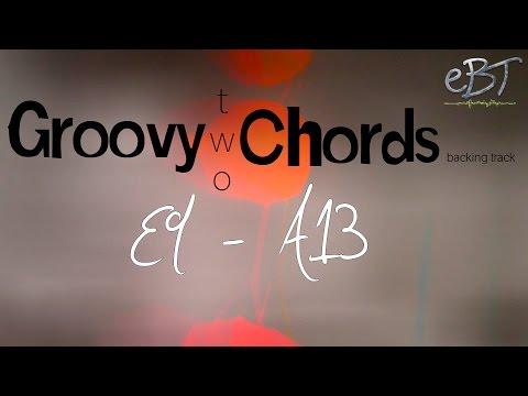 Groovy Two Chords | E9 - A13 | 80 bpm