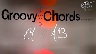 groovy two chords   e9 a13   80 bpm
