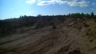 верблюжонок или trx 300i в песках