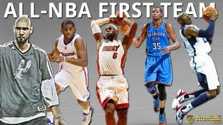 2012-13 ALL NBA FIRST TEAM