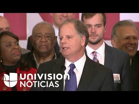 Doug Jones gana las elecciones para Senador en Alabama