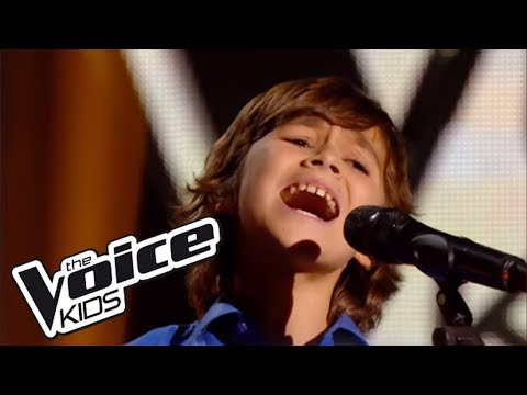 The Voice Kids 2014 | Esteban - Historia de un amor (Carlos Eleta Almaran) | Blind Audition