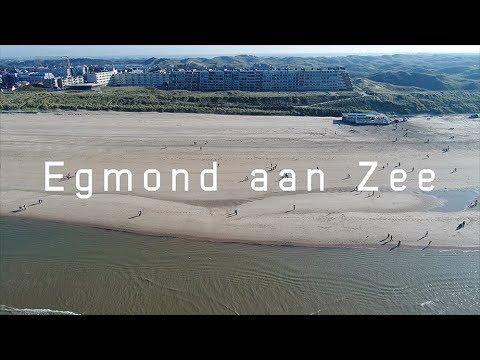 Egmond aan Zee (Noord-Holland, Nederland) | Drone Video 4K