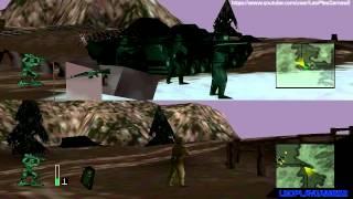 Army Men 3D Multiplayer SplitScreen #1 PT-BR [PS1] 【Full HD 60 FPS】