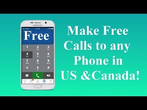 Make Free Phone Calls To Any Phone Number In The US And Canada!