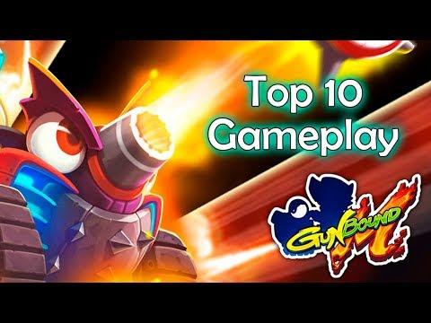 GunBound M : Top 10 Gameplay - Ep01