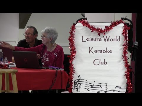 Karaoke Club Feb 14 2018 Leisure World Seal Beach