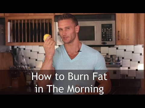 How to Burn Fat in the Morning: Easy Detox Drink- Thomas DeLauer