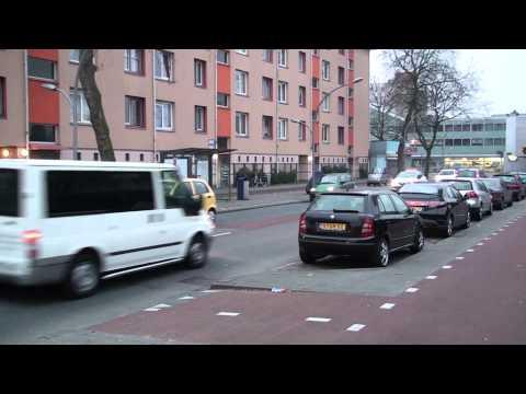 Buslijn 21 Amsterdam 4-12-2014