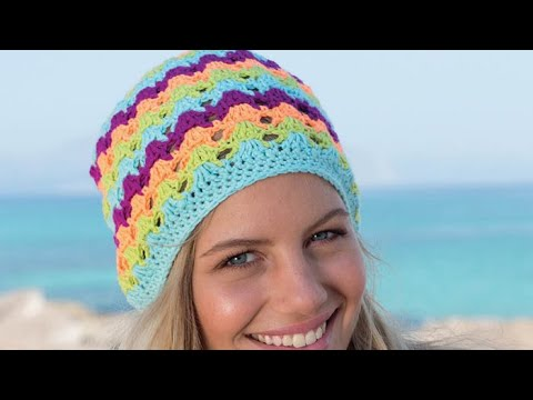 How to Crochet A Slouchy: Pipeline Hat