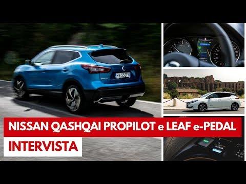 Nissan Qashqai ProPILOT e LEAF e-Pedal | Verso la guida autonoma, intervista a Bruno Mattucci